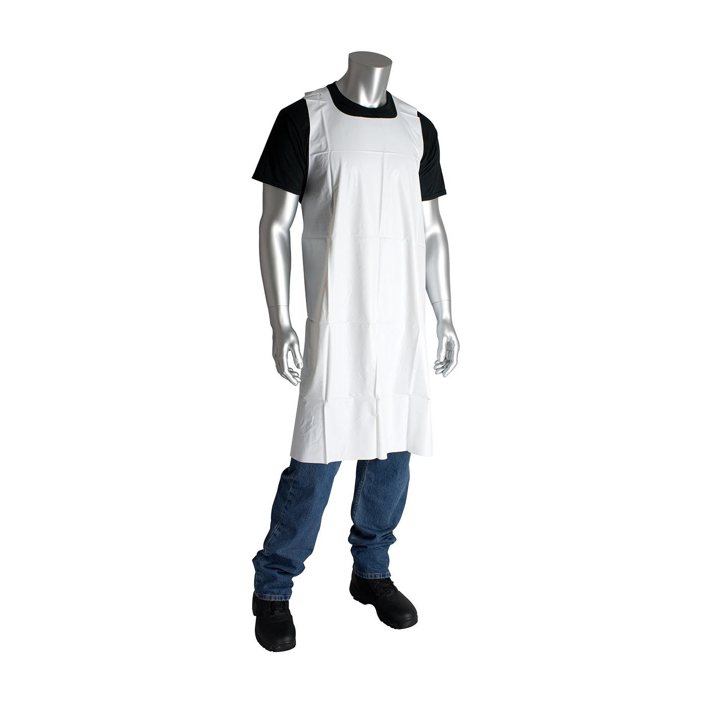 White neoprene apron - 200 08001