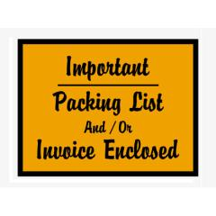 Packing List/Invoice Enclosed