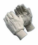 90-908I - Canvas Single Palm Glove, 8 Oz., Economy Grade, Natural Knitwrist Dz