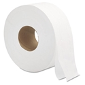 "Jumbo Bath Tissue 2-Ply White 9"" 12/Cs"