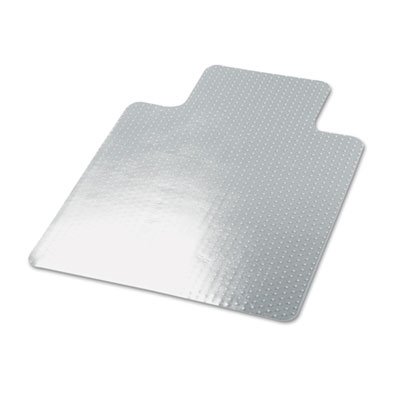 Cleated Chair Mat for Low and Medium Pile Carpet 45  x 53  Clear 1  sc 1 st  BuyAmeriPak : clear chair mats - Cheerinfomania.Com
