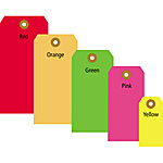 Colored & Fluorescent Tags