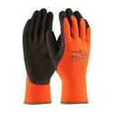 Powergrab Thermo From Towa, Hi-Vis Orange Acrylic Terry Shell, Brown Microfinish Grip DOZEN