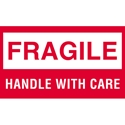 3 X 5 - Fragile - Handle With Care Labels 500/Roll