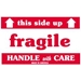 3 X 5 - Fragile - This Side Up - HWC Labels 500/Roll - SCL521