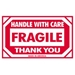 3 X 5 - Fragile - Handle With Care Labels 500/Roll - SCL576