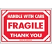 2 x 3 - Fragile - Handle With Care Labels 500/Roll - DL1053