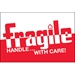 2 x 3 - Fragile - Handle With Care Labels 500/Roll - DL1054
