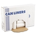 "High-Density Can Liners, 43"" x 47"", 56 Gal, 17 Micron Equivalent, Clear, 25/Roll 8/Cs - BWK434717"